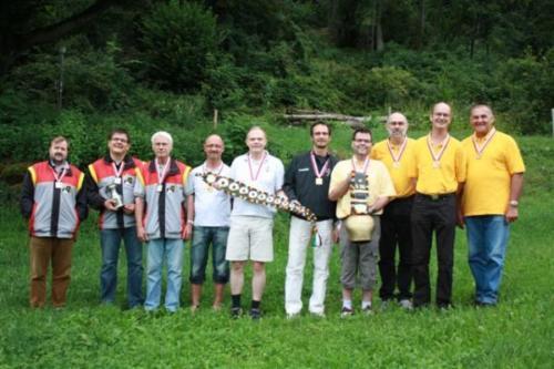Siegerfoto Gruppenmeisterschaft 2009