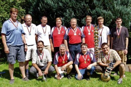 Siegerfoto Gruppenmeisterschaft 2011