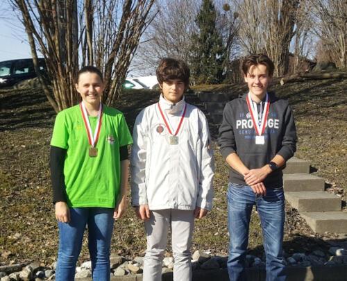 Podest Juniorenfinal 2019