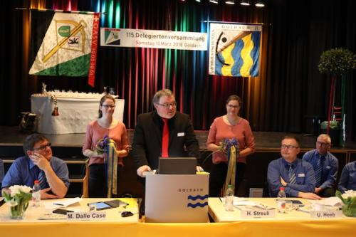 BKAV Präsident Martin Schneider
