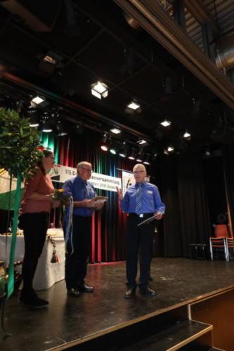Ehrung Wendel Forrer & Hans Streuli