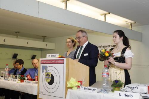 IG St.Galler Sport-Präsident Josef Dürr