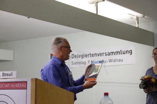 OASV-Präsident Hans Streuli
